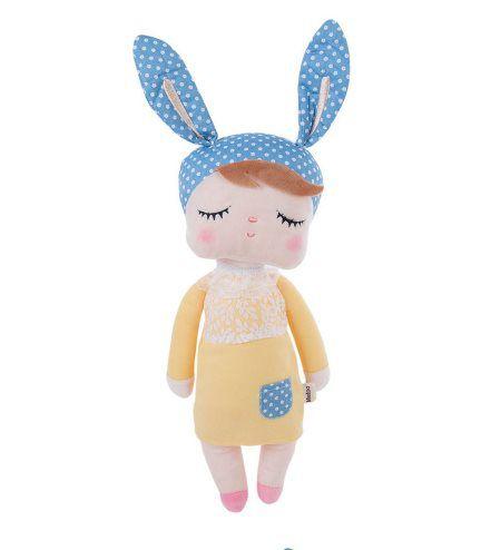 Boneca Angela vestido amarelo - Metoo Doll