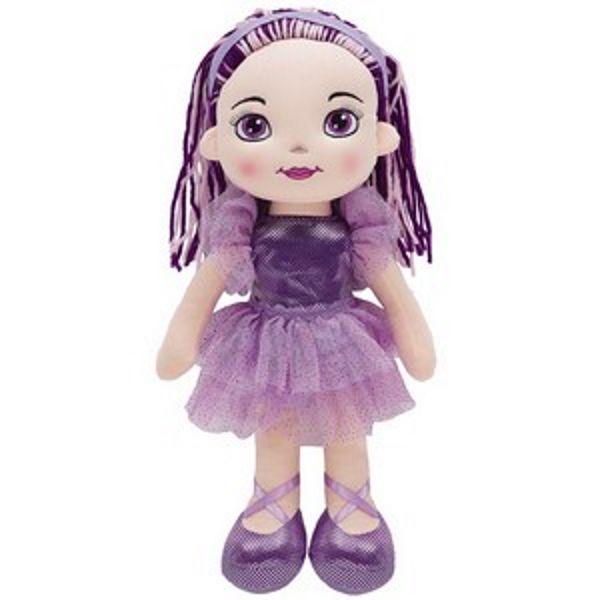 Boneca Bailarina Fashion Lilás - Buba Baby