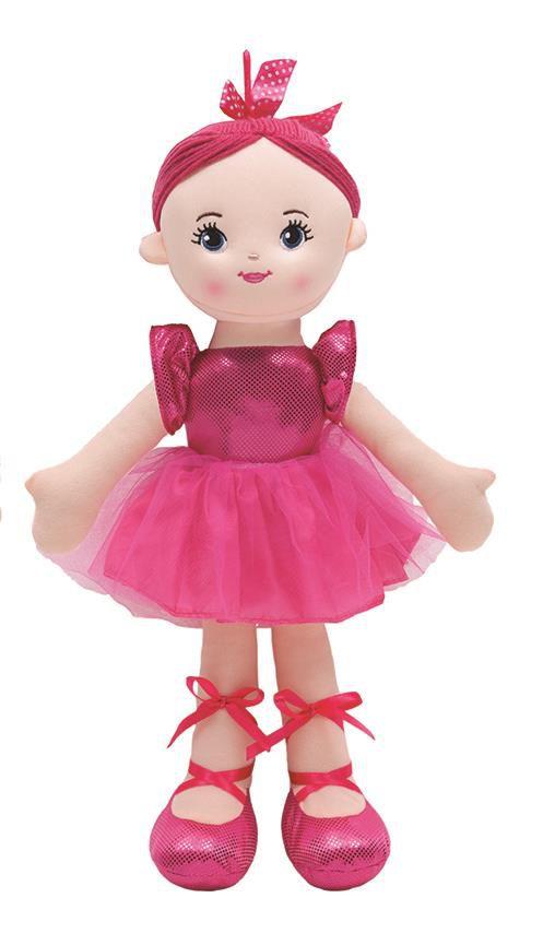 Boneca Bailarina Glamour Pink - Buba Baby