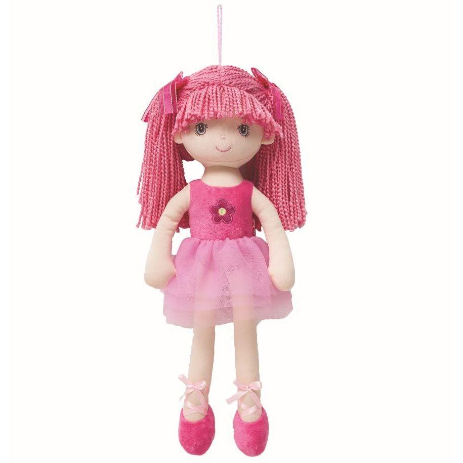 Boneca Bailarina Grande Sweet Pink - Buba Baby