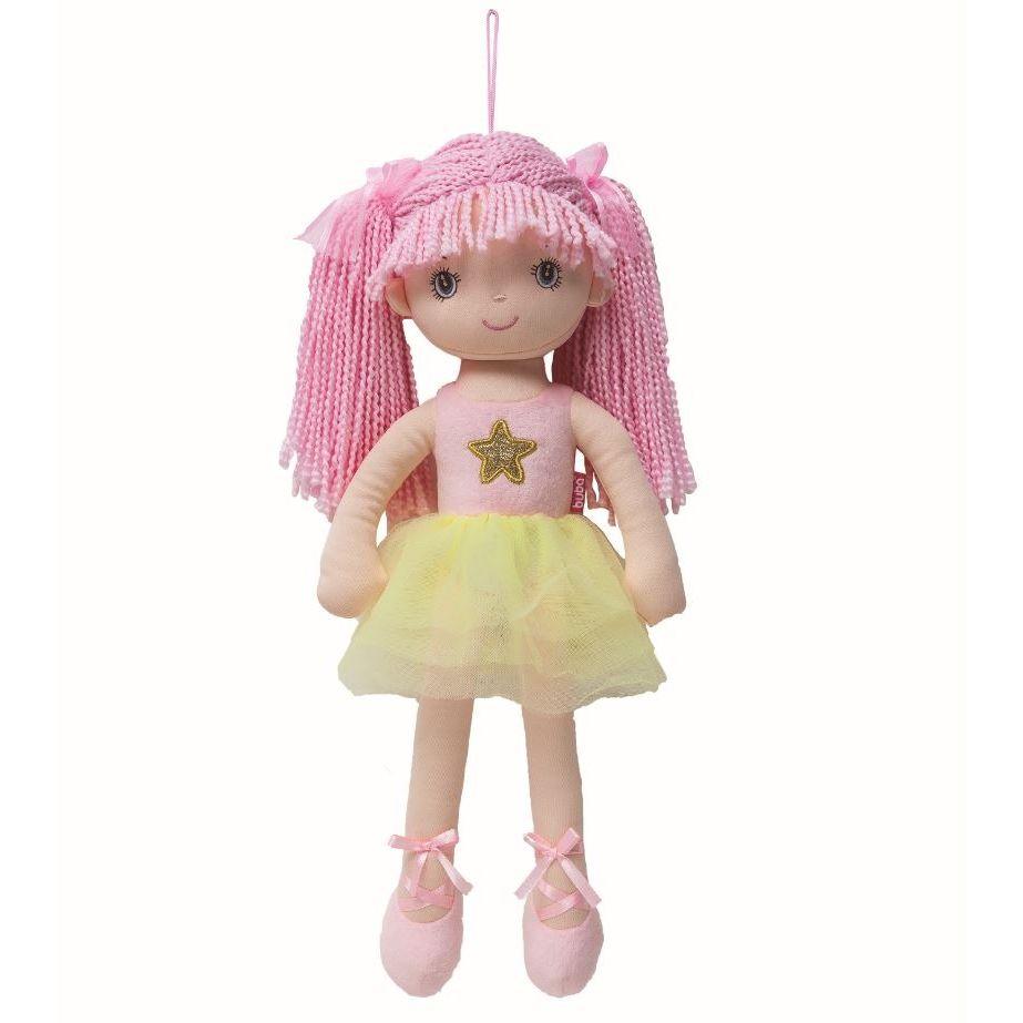 Boneca Bailarina Grande Sweet Rosa - Buba Baby