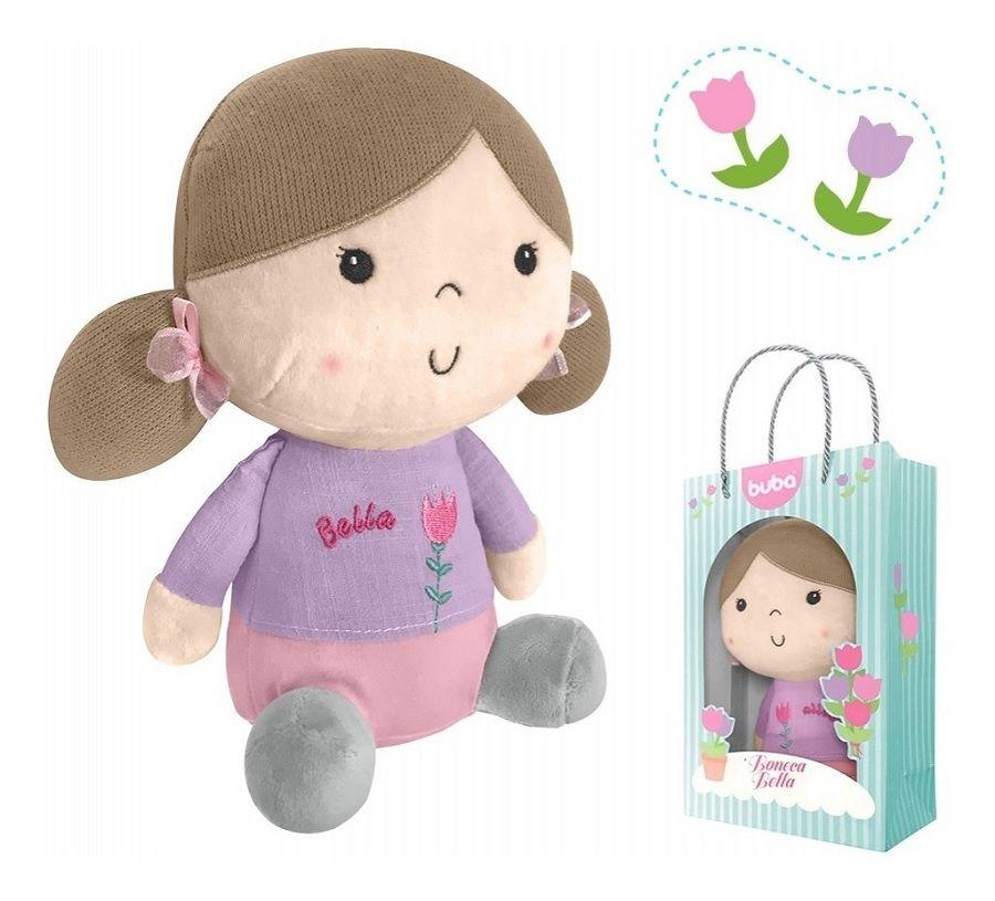 Boneca  Bella Violeta - Buba Baby