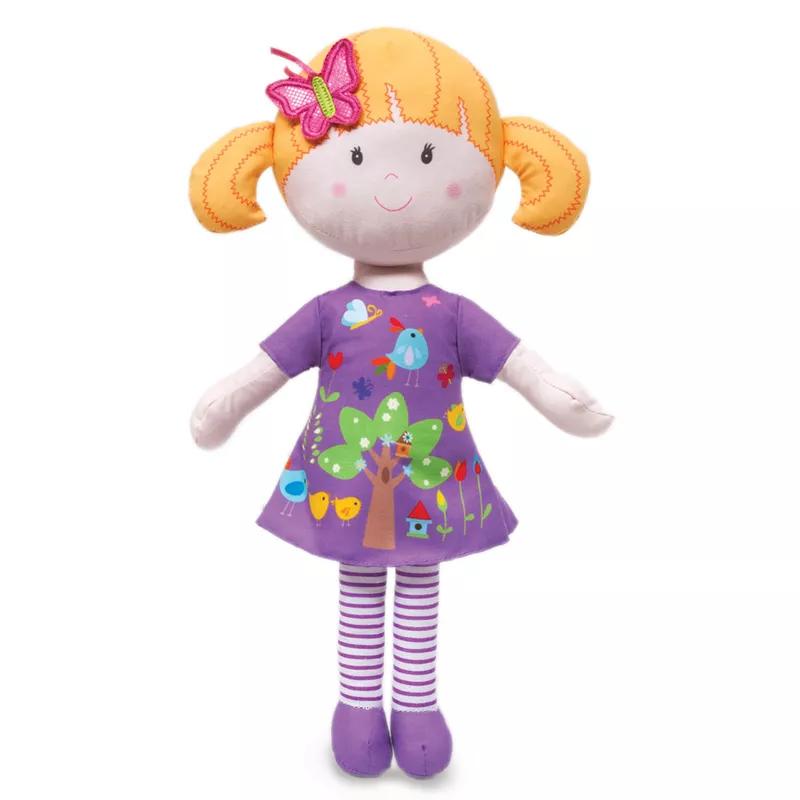 Boneca de Pano Atividades Candy Lilás - Buba Baby