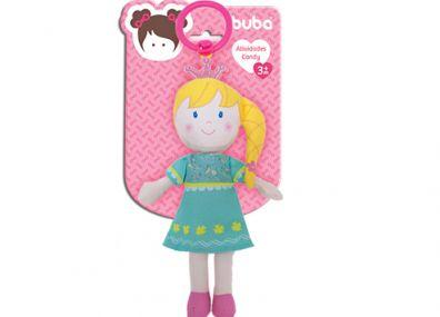 Boneca de Pano Atividades Candy Princesinha - Buba Baby