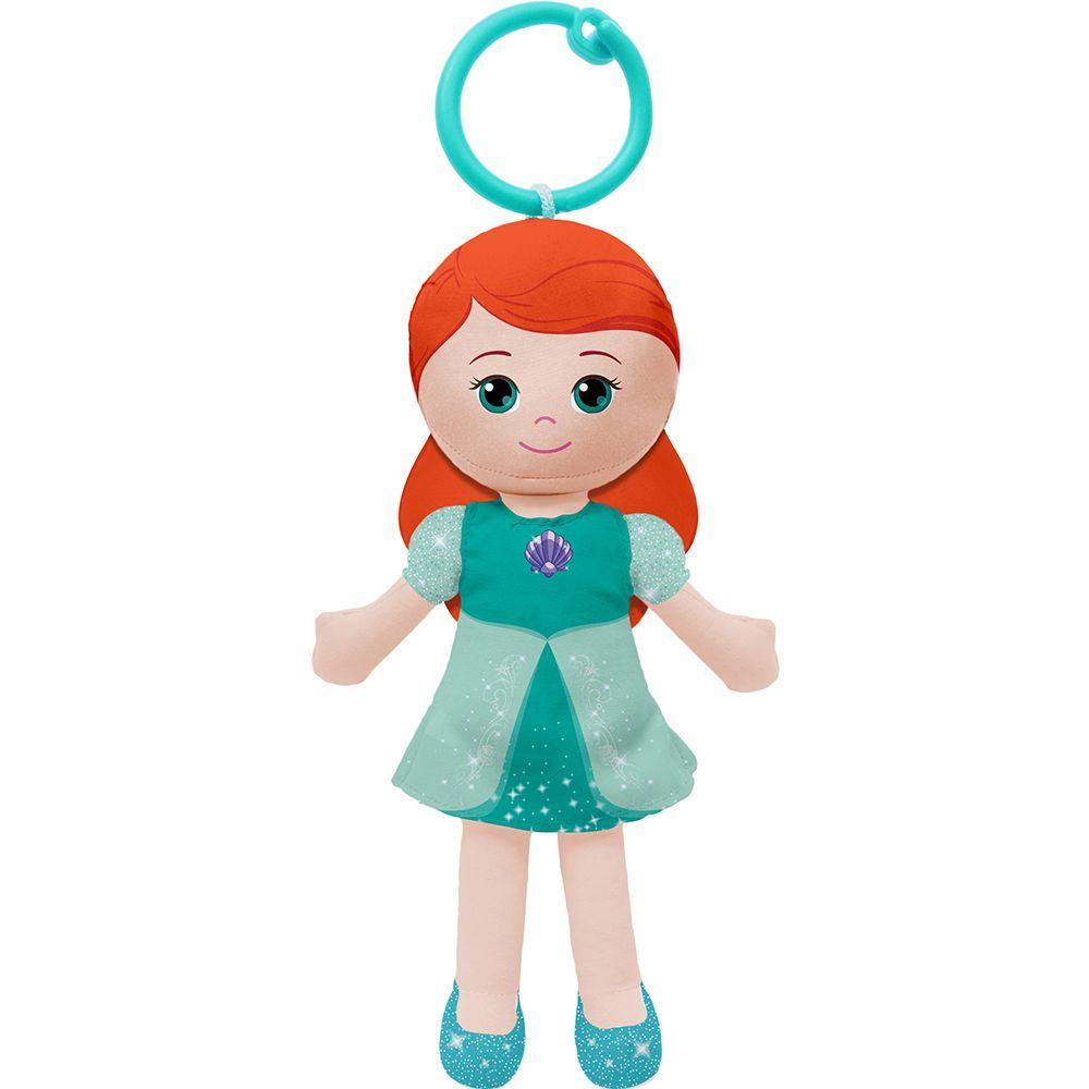 Boneca de Pano Chaveirinho Princesa Ariel - Buba Baby