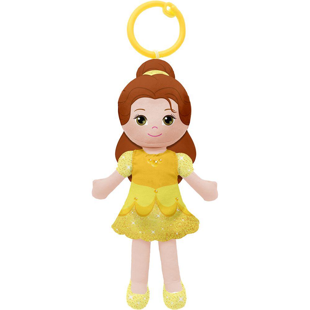 Boneca de Pano Chaveirinho Princesa Bela - Buba Baby