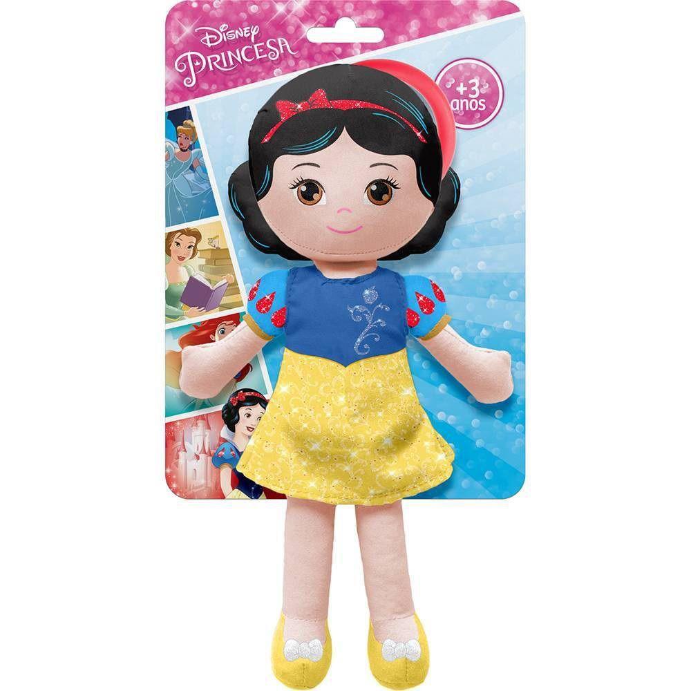 Boneca de Pano Chaveirinho Princesa Branca de Neve - Buba Baby