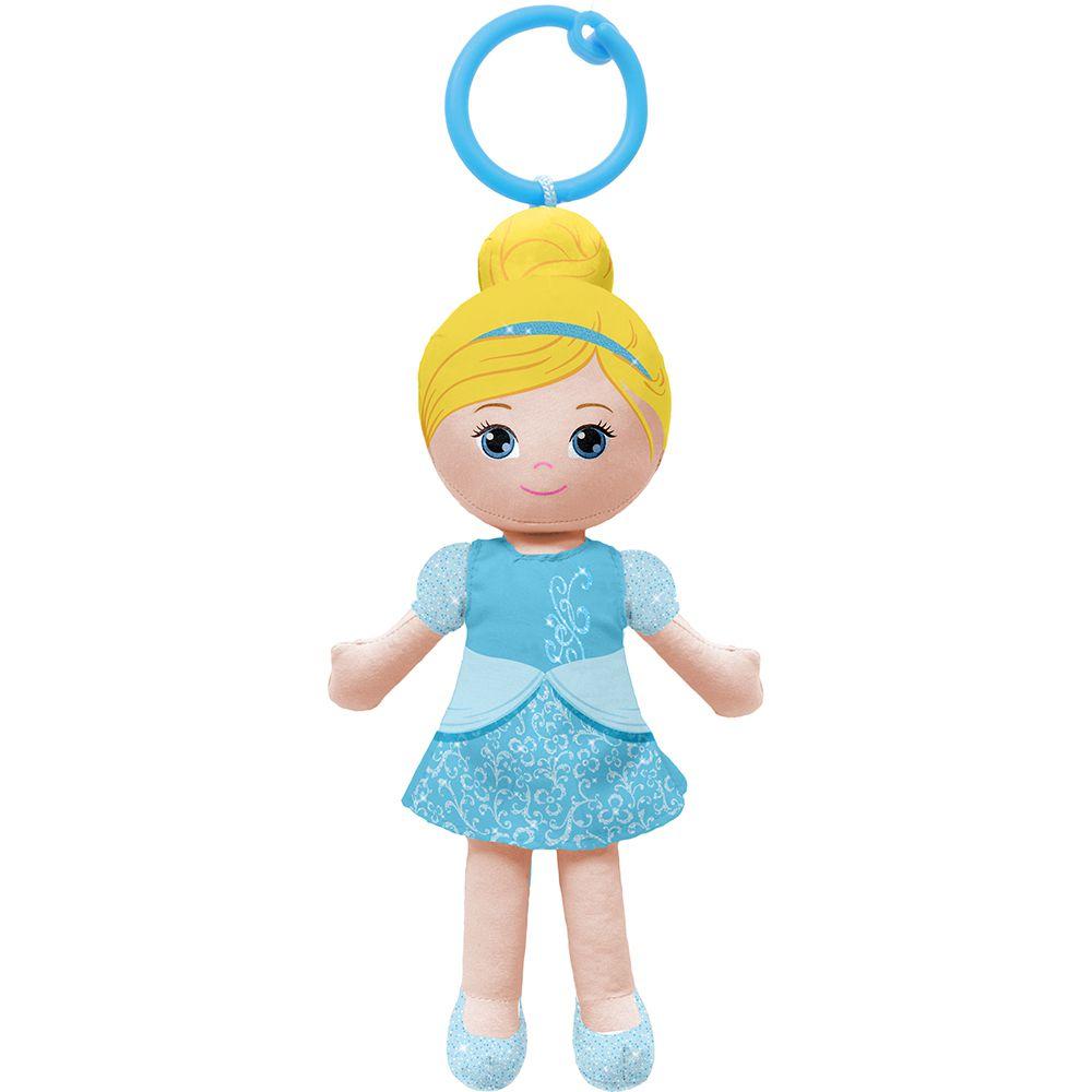 Boneca de Pano Chaveirinho Princesa Cinderela - Buba Baby