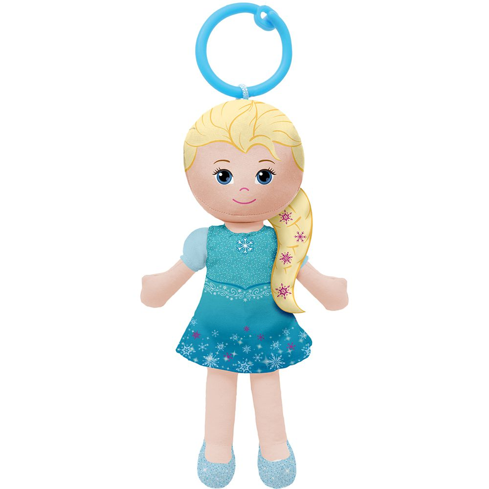 Boneca de Pano Chaveirinho Princesa Frozen - Buba Baby