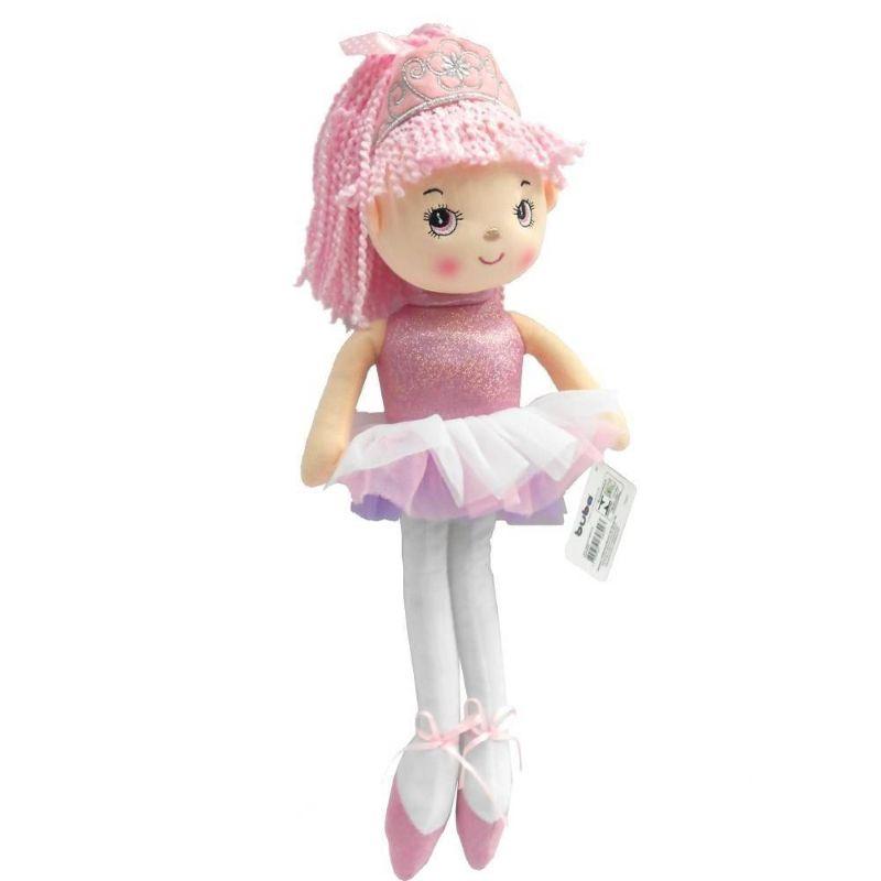 Boneca Princesa Bailarina Rosa - Buba Baby