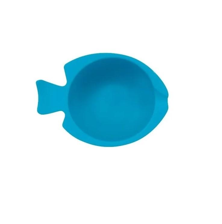 Bowl de Silicone Azul - Buba Baby