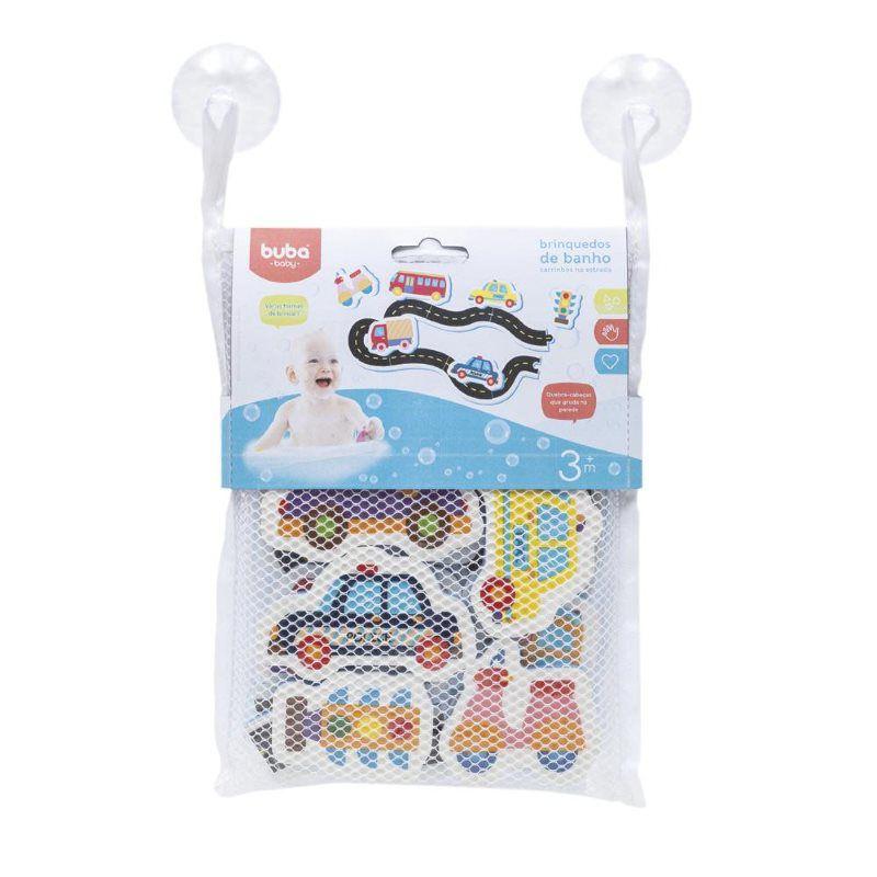 Brinquedo carrinhos na estrada com sacolinha - Buba Baby