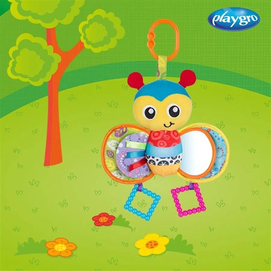 Brinquedo de Pelúcia Abelha Bumble Playgro - Girotondo