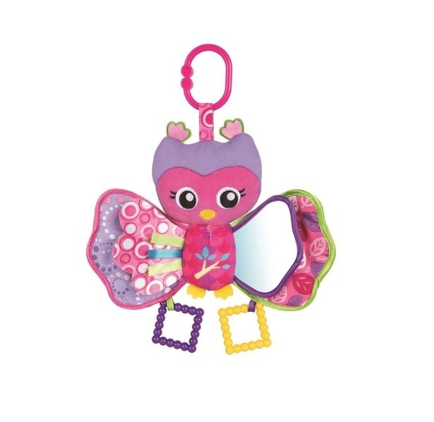 Brinquedo de Pelúcia Coruja Olive Playgro - Girotondo