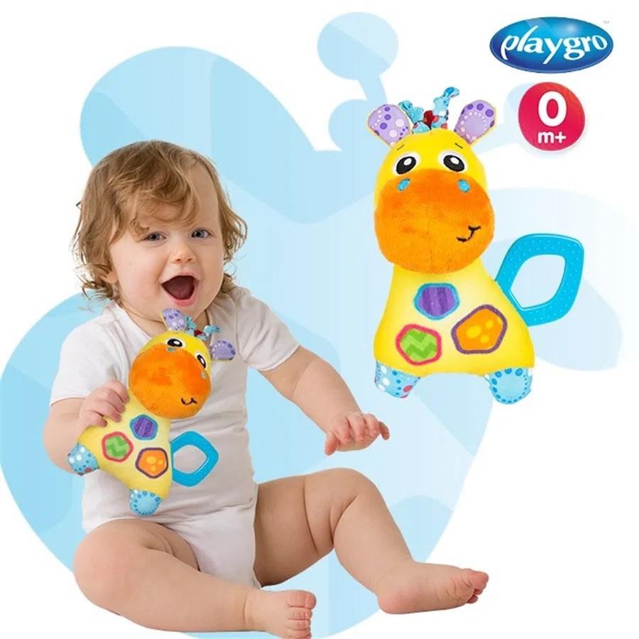 Brinquedo de Pelúcia Girafa Playgro - Girotondo