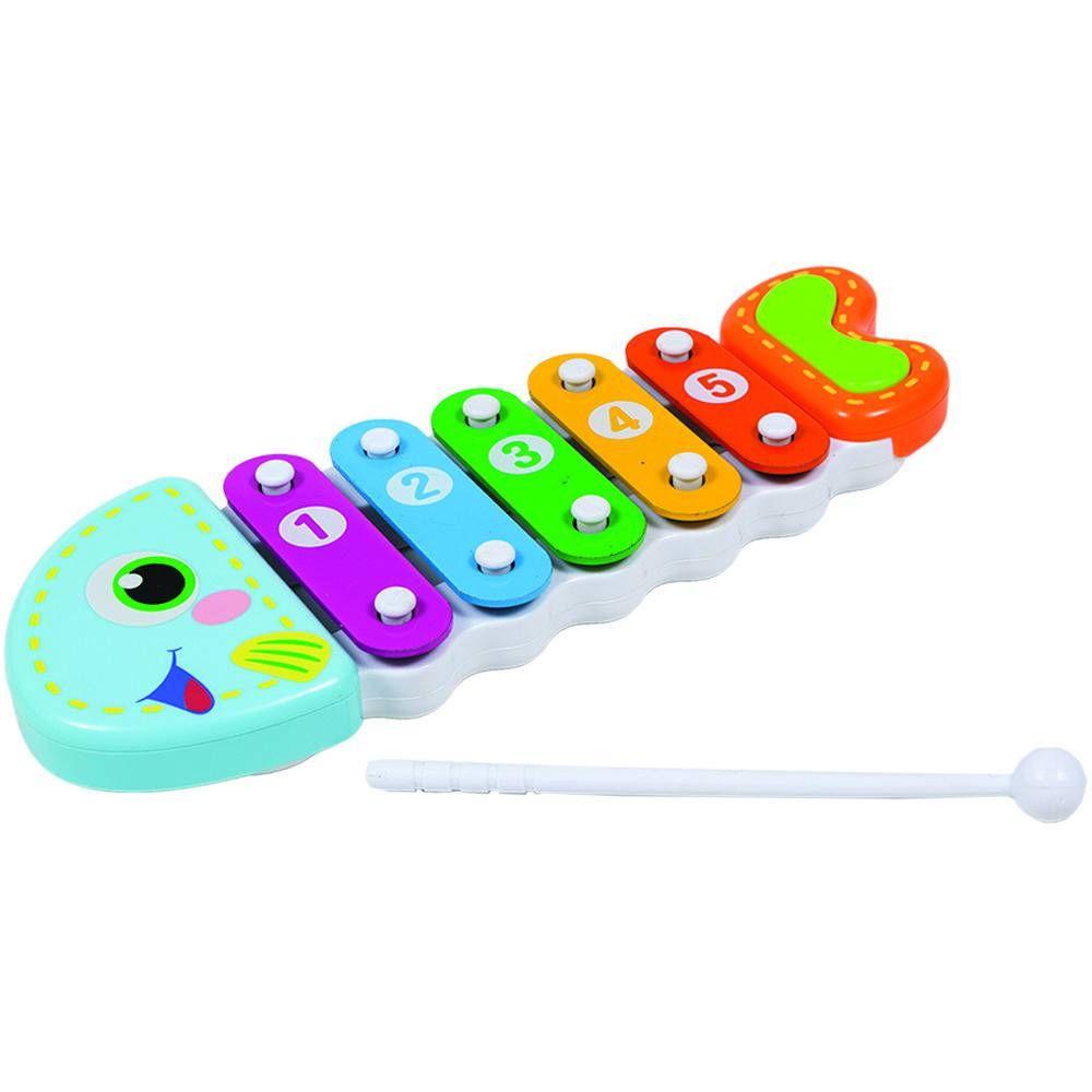 Brinquedo Musical Xilofone Peixinho - Buba Baby