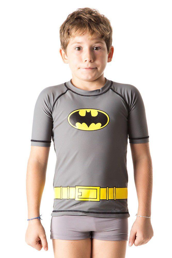 Camiseta Acqua Batman MC - UV.LINE - Tamanho 1 ano