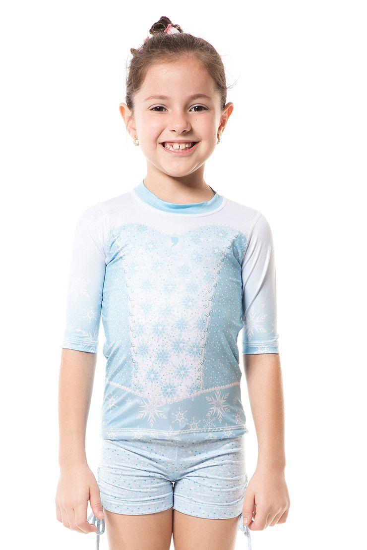 Camiseta Acqua Elsa MC FPU50+ - UV.LINE - Tamanho 1 ano