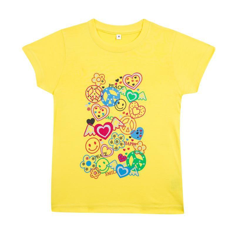 Camiseta Algodão Peace - Kids