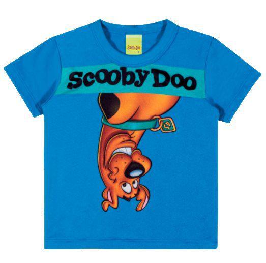 Camiseta Scooby Doo Azul - Scooby - 1 Ano