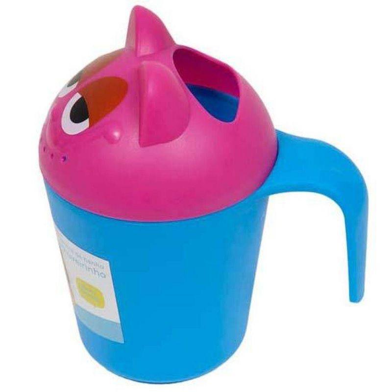 Caneca para banho chuveirinho azul e rosa - Buba Baby