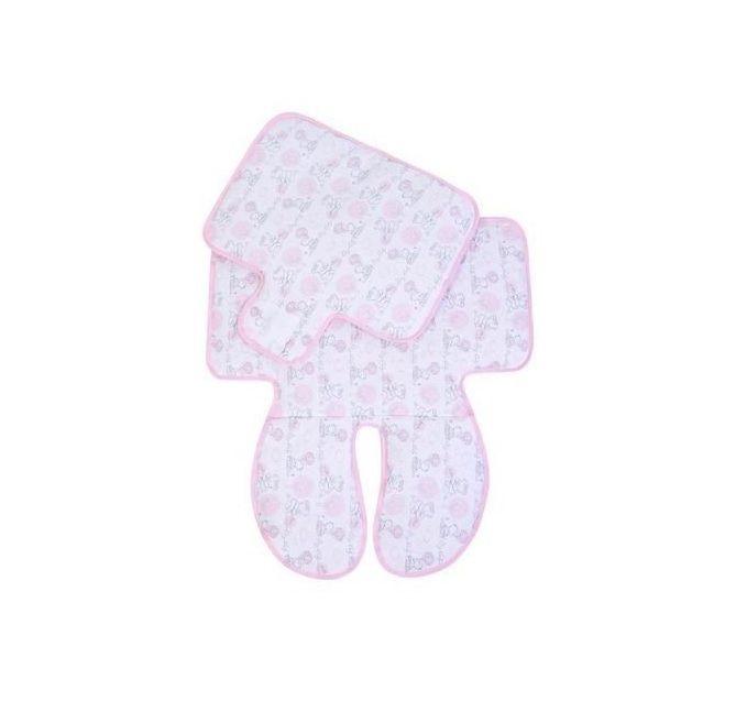 Capa Para Carrinho e Cadeirinha Dupla Face Papi - Rosa