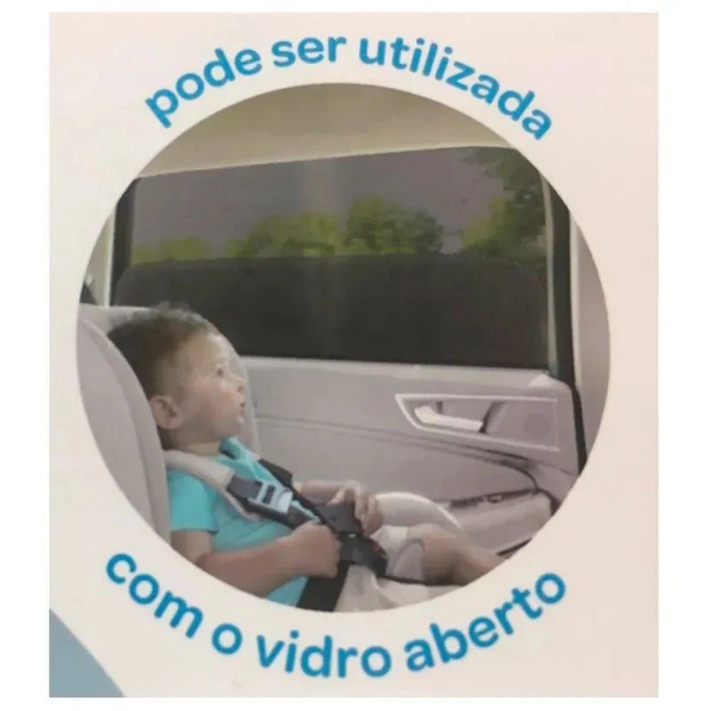 Capa Protetora Solar para Carros - Buba Baby