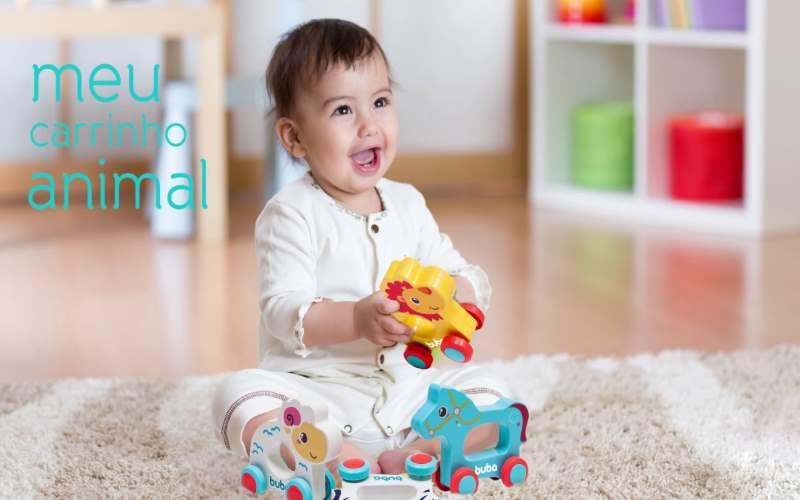 Carrinho animal cavalinho - Buba Baby