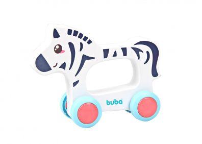 Carrinho animal zebrinha - Buba Baby