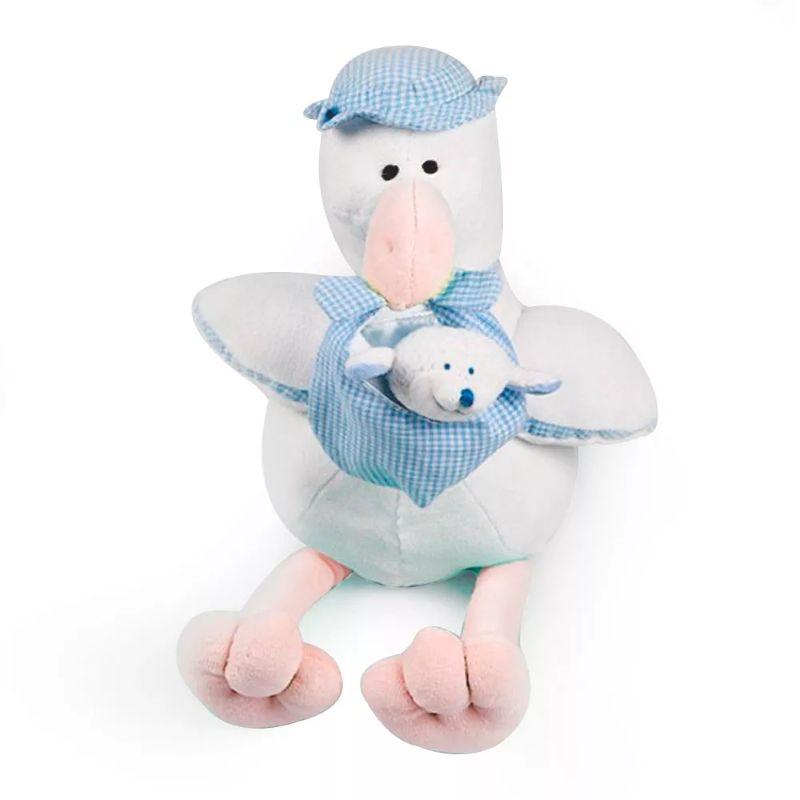 Cegonha Azul Bebê - Zip Toys