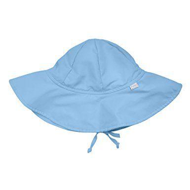Chapéu de Sol Infantil com FPS 50+ - Iplay- Azul Claro