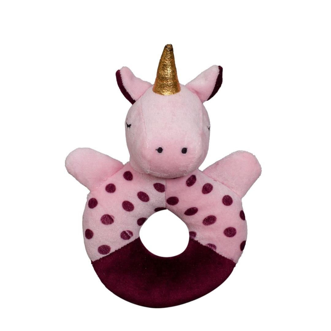 Chocalho de Pelúcia Unicórnio - Zip Toys
