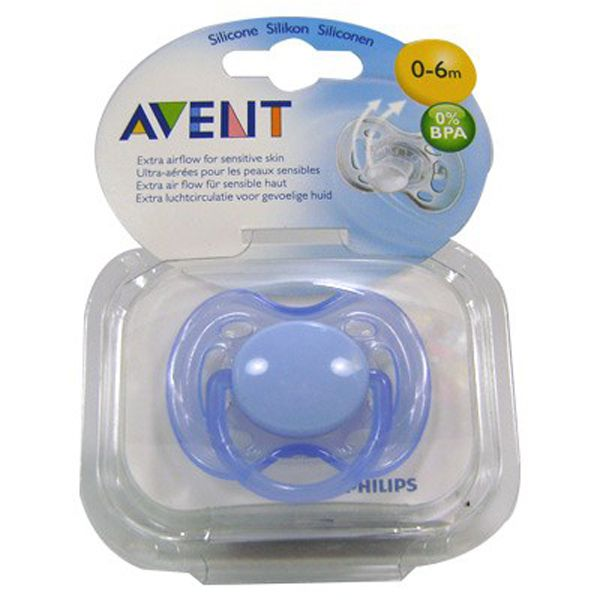 Chupeta FreeFlow 0 a 6 meses - Philips Avent Azul