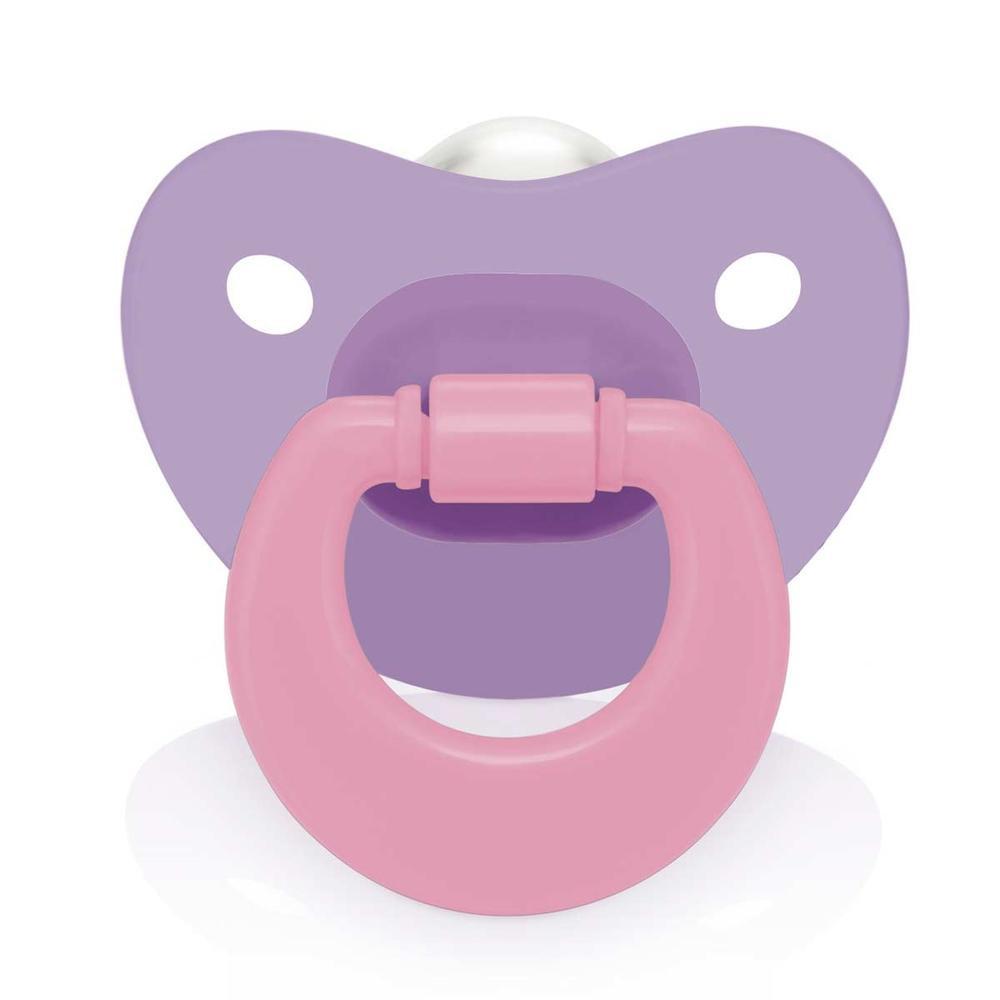 Chupeta Ortoflex Colors - Multikids Baby (Menina)