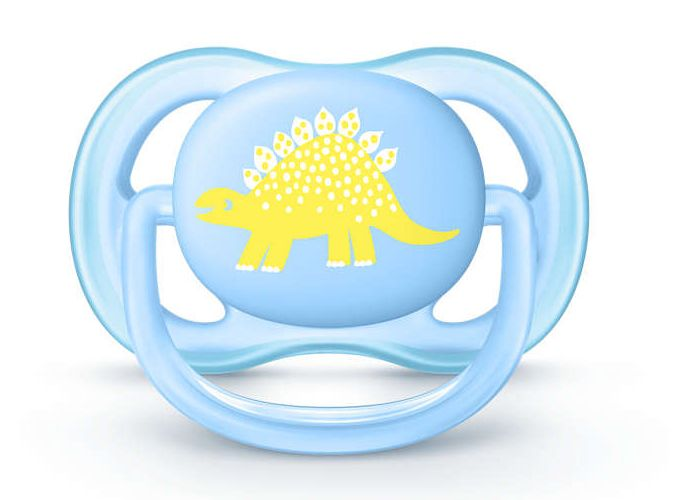 Chupetas Ultra Air Dino - Philips Avent - 0 a 6 meses