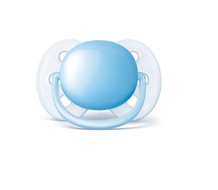 Chupetas Ultra soft Azul - Philips Avent - 0 a 6 meses