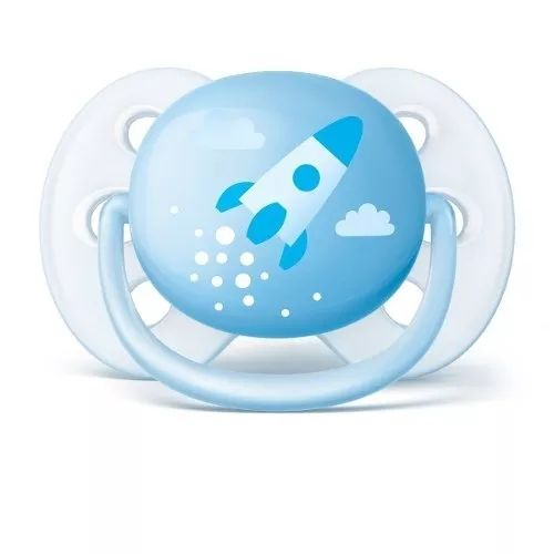 Chupetas Ultra soft Decorada Menino - Philips Avent - 0 a 6 meses