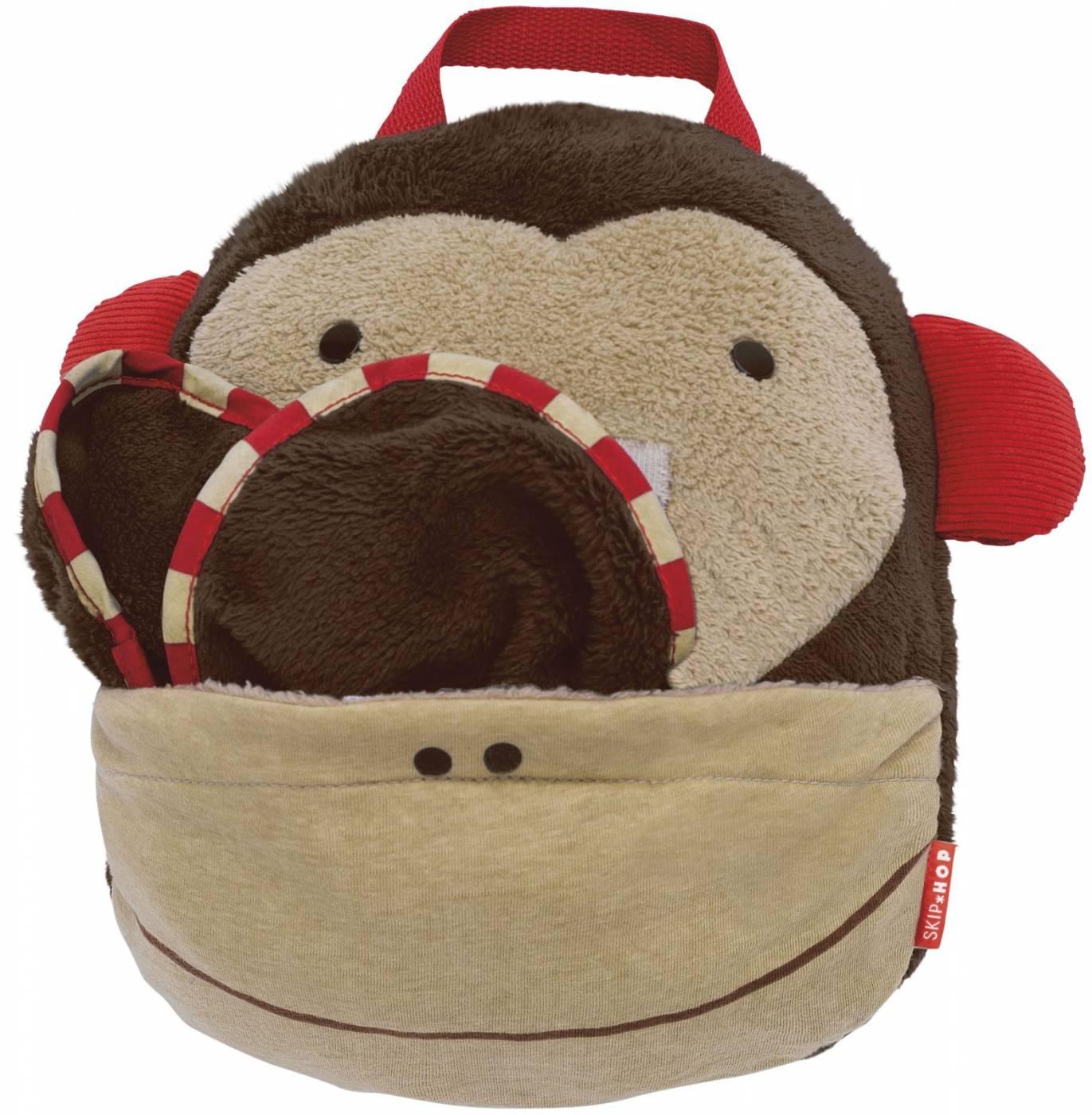 Cobertor de viagem Skip Hop Zoo Macaco
