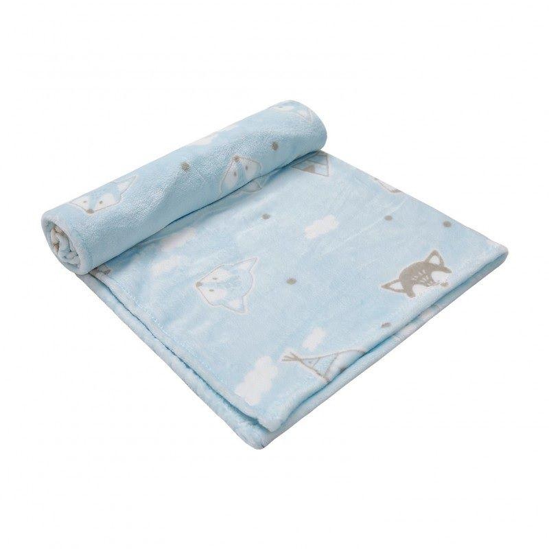 Cobertor Microfriba Raposa  - Papi Baby