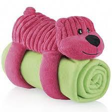 Cobertor Travesseiro e Bicho de Pelúcia - Multikids Baby Urso