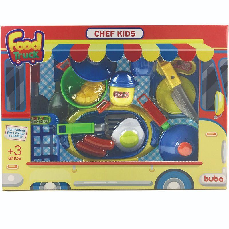 Coleção Food Chef Kids 18 pçs - Buba Baby