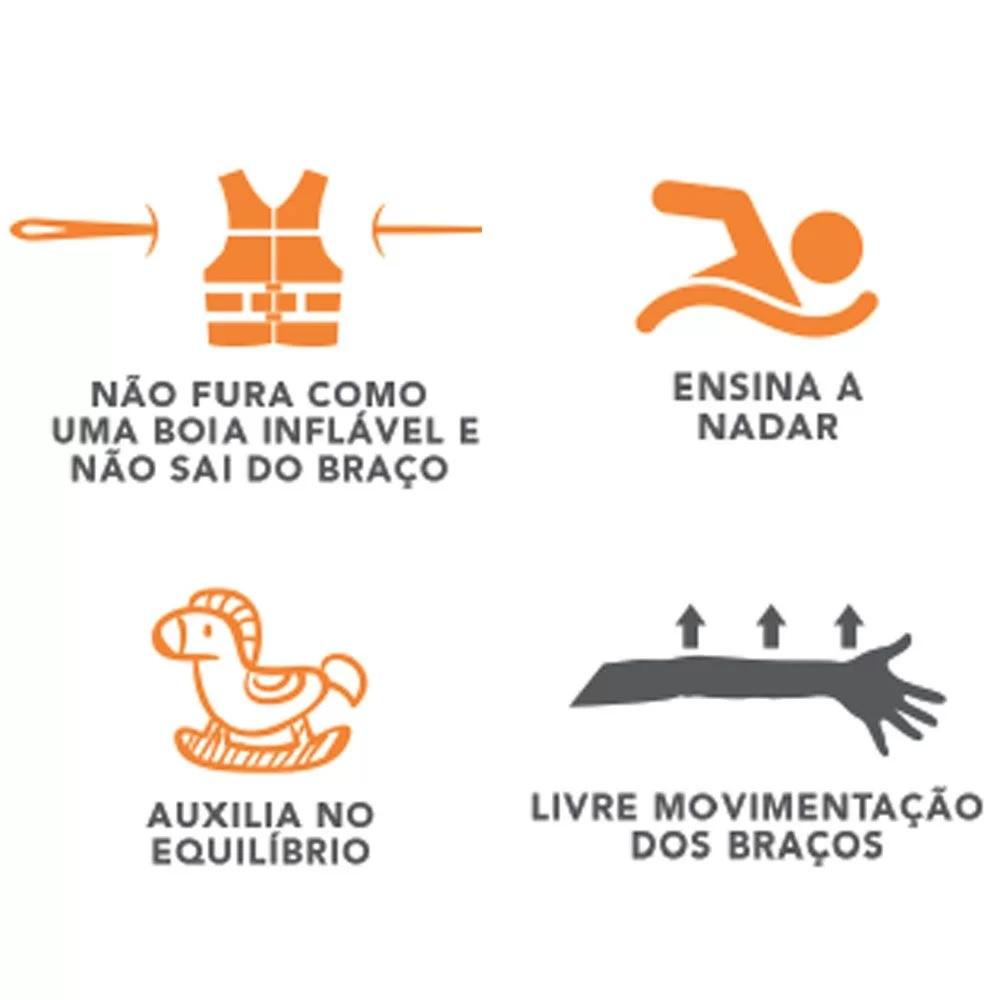 Colete Ativa Kids - Borboletinha Estampa Nova