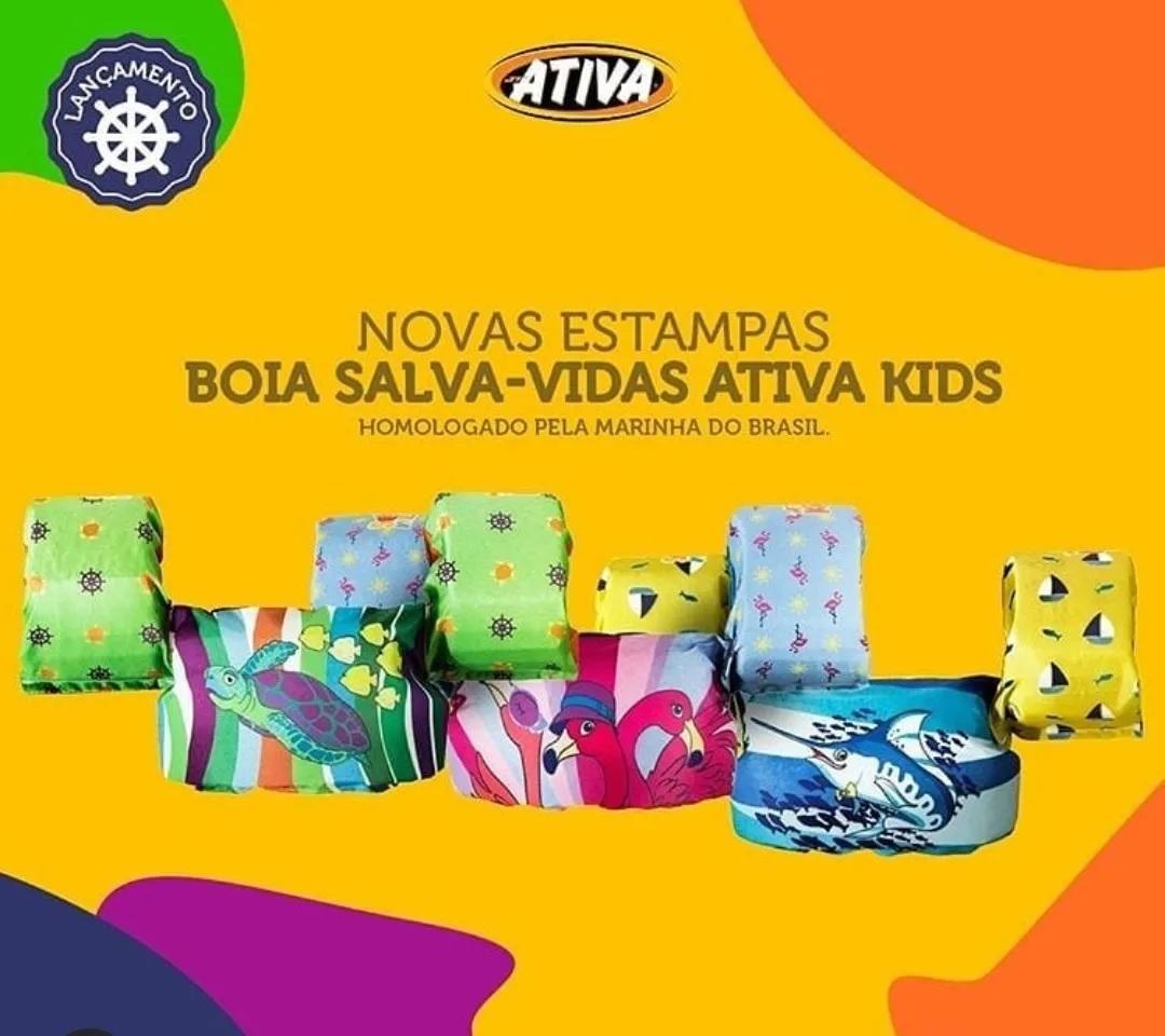 Colete Ativa Kids - Marlim