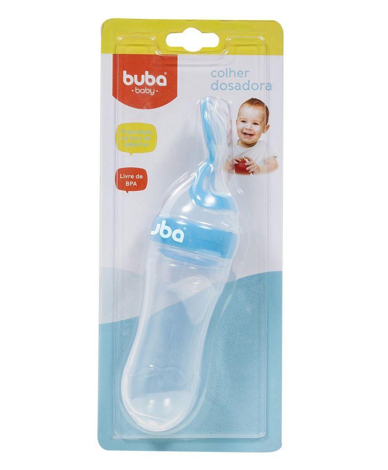 Colher Dosadora de Papinha Azul - Buba Baby