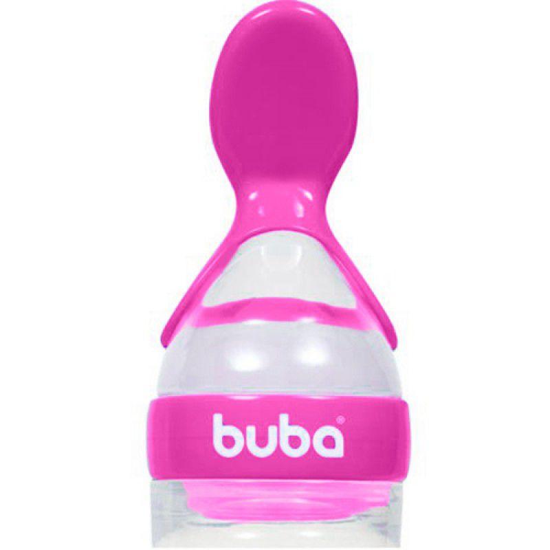 Colher Dosadora de Papinha Rosa - Buba Baby