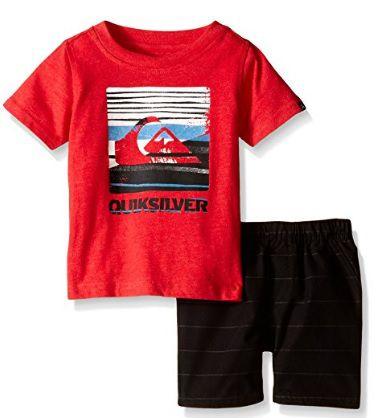Conjunto Bermuda e Camiseta - Quiksilver