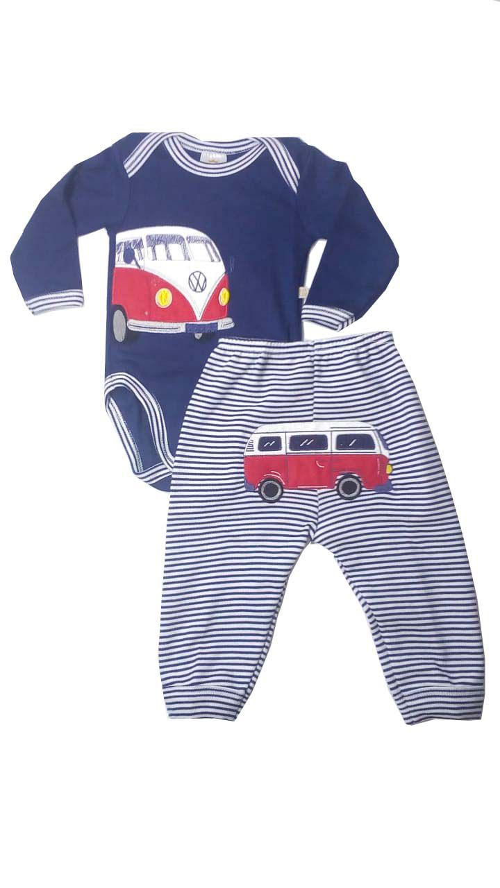 Conjunto Body e Calça Kombi - Best Club