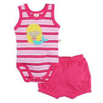 Conjunto Body Regata e Short Sereia - Best Club