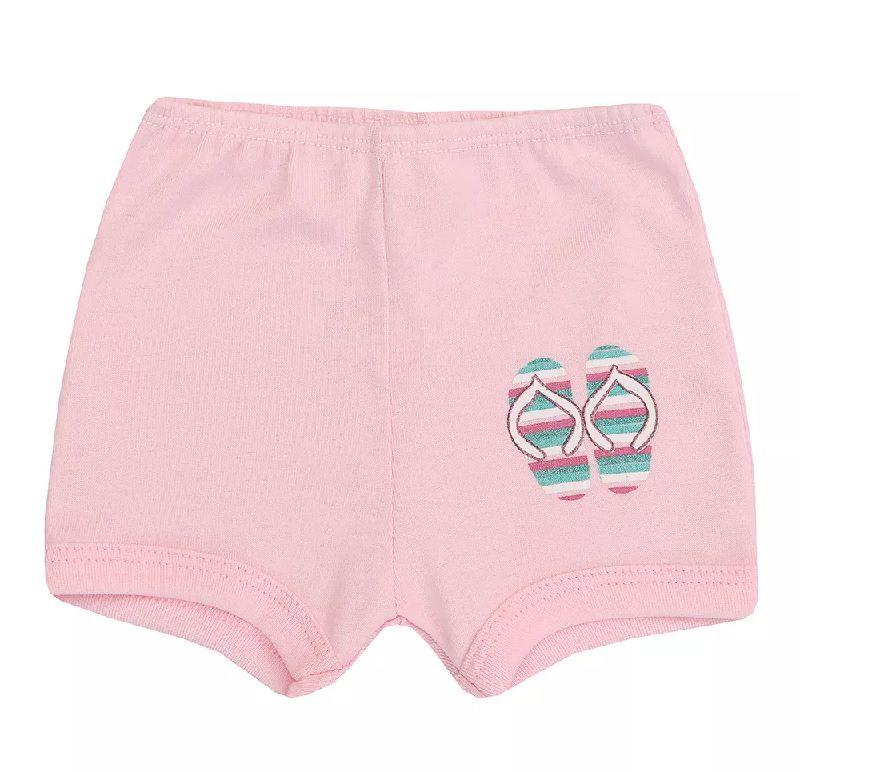 Conjunto Body Regata e Shorts Summer - Baby Duck