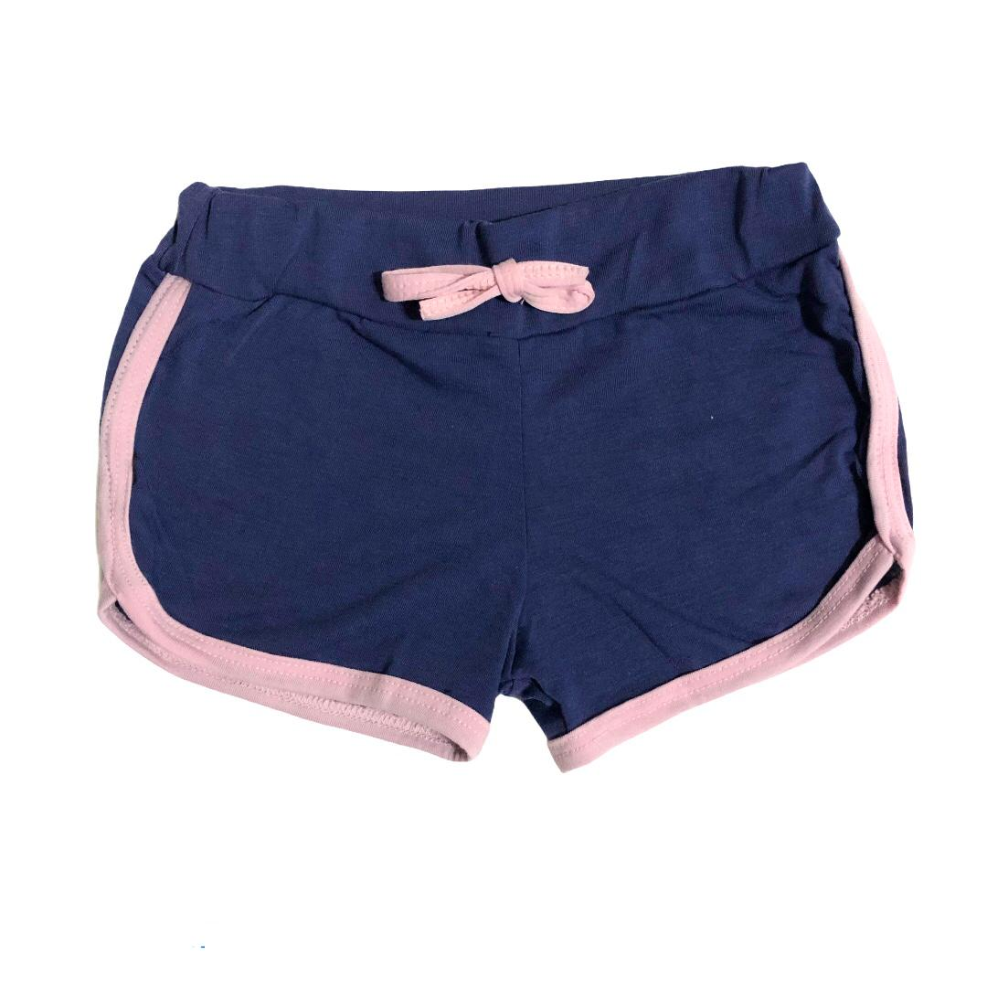 Conjunto infantil camiseta rosa Superstar e shorts azul - ClubB